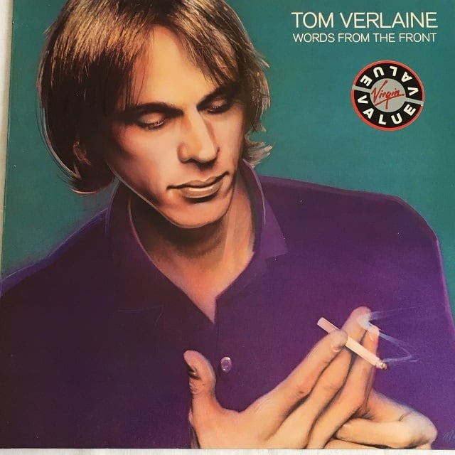 【LP・英盤】Tom Verlaine  /  Words From The Front