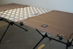 Helinox (ヘリノックス)タクティカルテーブル(M.S.テーブルワン)用シマ板天板。 キャンプ オーパーツ