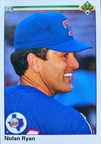 MLBカード 90UPPERDECK Nolan Ryan #544 RANGERS