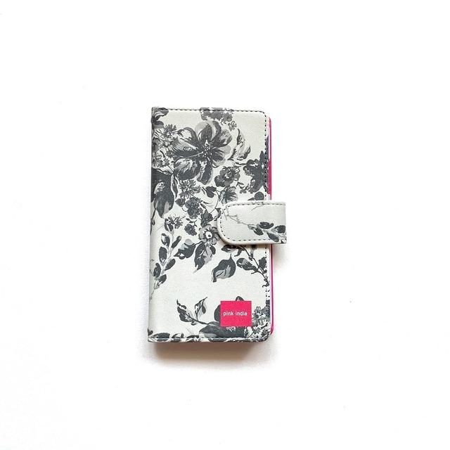 北欧デザイン iPhone手帳型ケース  | stella gray