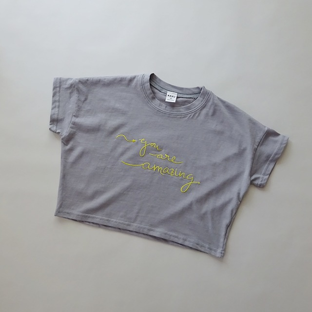You are amazing Tシャツ [gray]