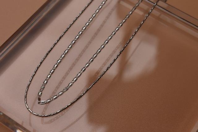2 pic 2choice ネックレス シルバー×シルバーカラー [L2PC0102]