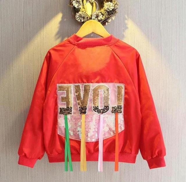 商品番号1058 LOVEフリンジジャケット