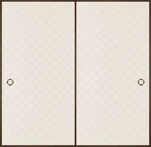 日新828(総柄、市松模様) 織物ふすま紙 203cm×100cm 1枚