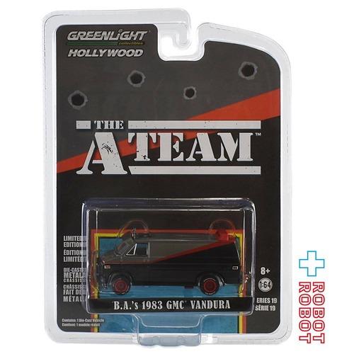 グリーンライト Aチーム 1983 GMC バンデューラ 1/64 ダイキャストカー