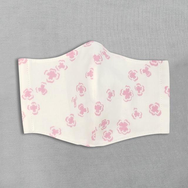 デザイナーズ マスク|よつ葉|ピンク