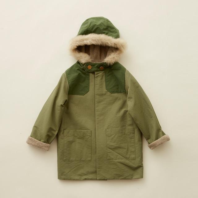 eLfinFolk(エルフィンフォルク)high lander coat(110/120/130)コート アウター ミリタリー