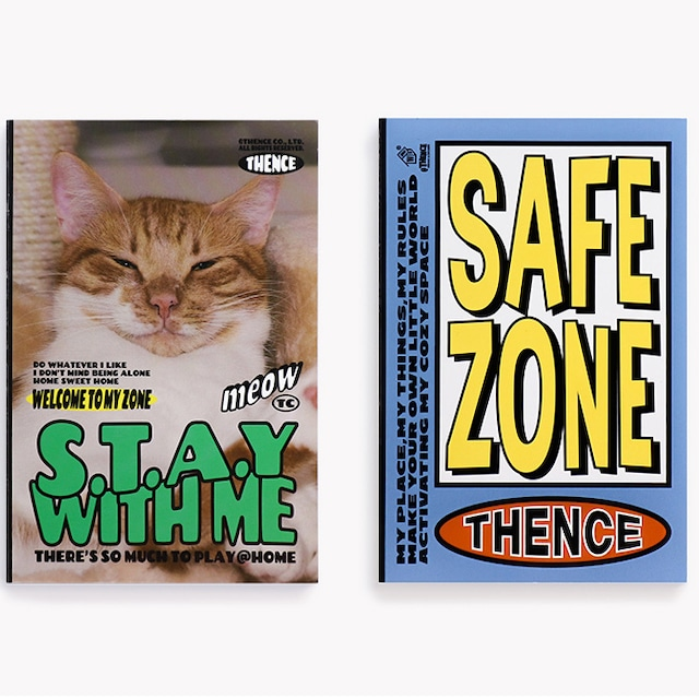 「SAFE ZONE」メモブック