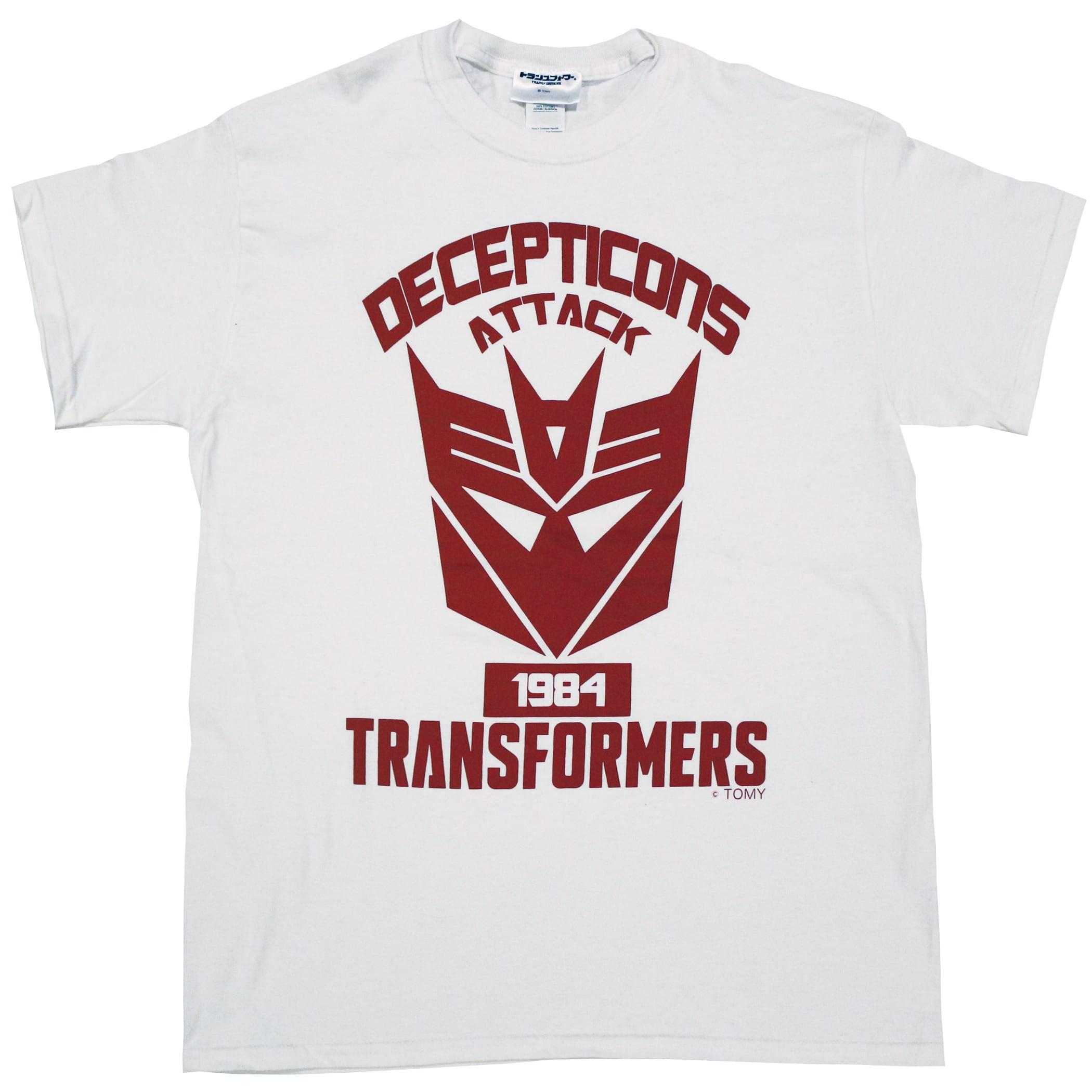 【トランスフォーマー】戦え!超ロボット生命体トランスフォーマー デストロンエンブレム Tシャツ(リニューアル版)
