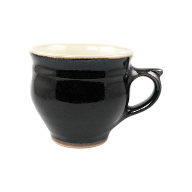 出西窯 モーニングカップ 黒