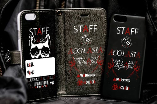 STAFF case 手帳型