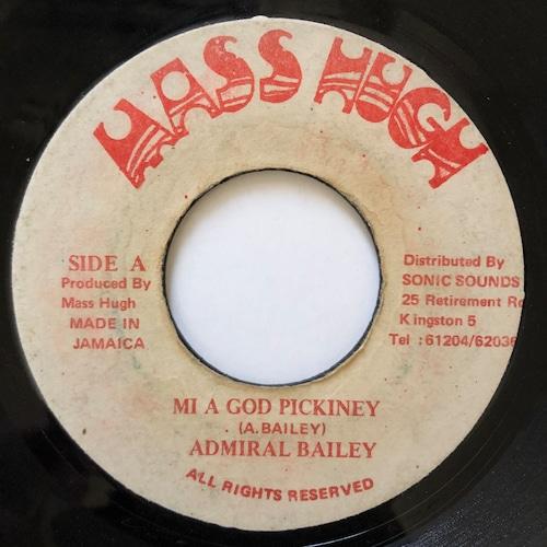 Admiral Bailey - Mi A God Pickiney【7-20568】