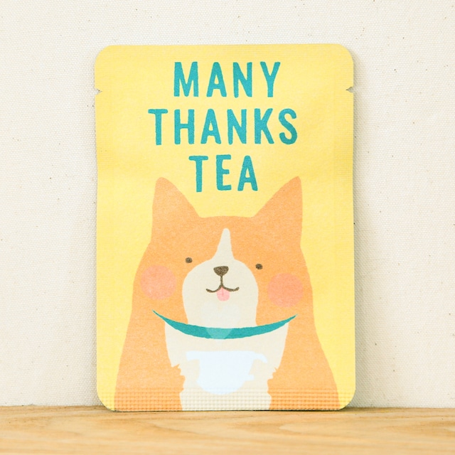MANY THANKS TEA|ごあいさつ茶|和紅茶ティーバッグ1包入り