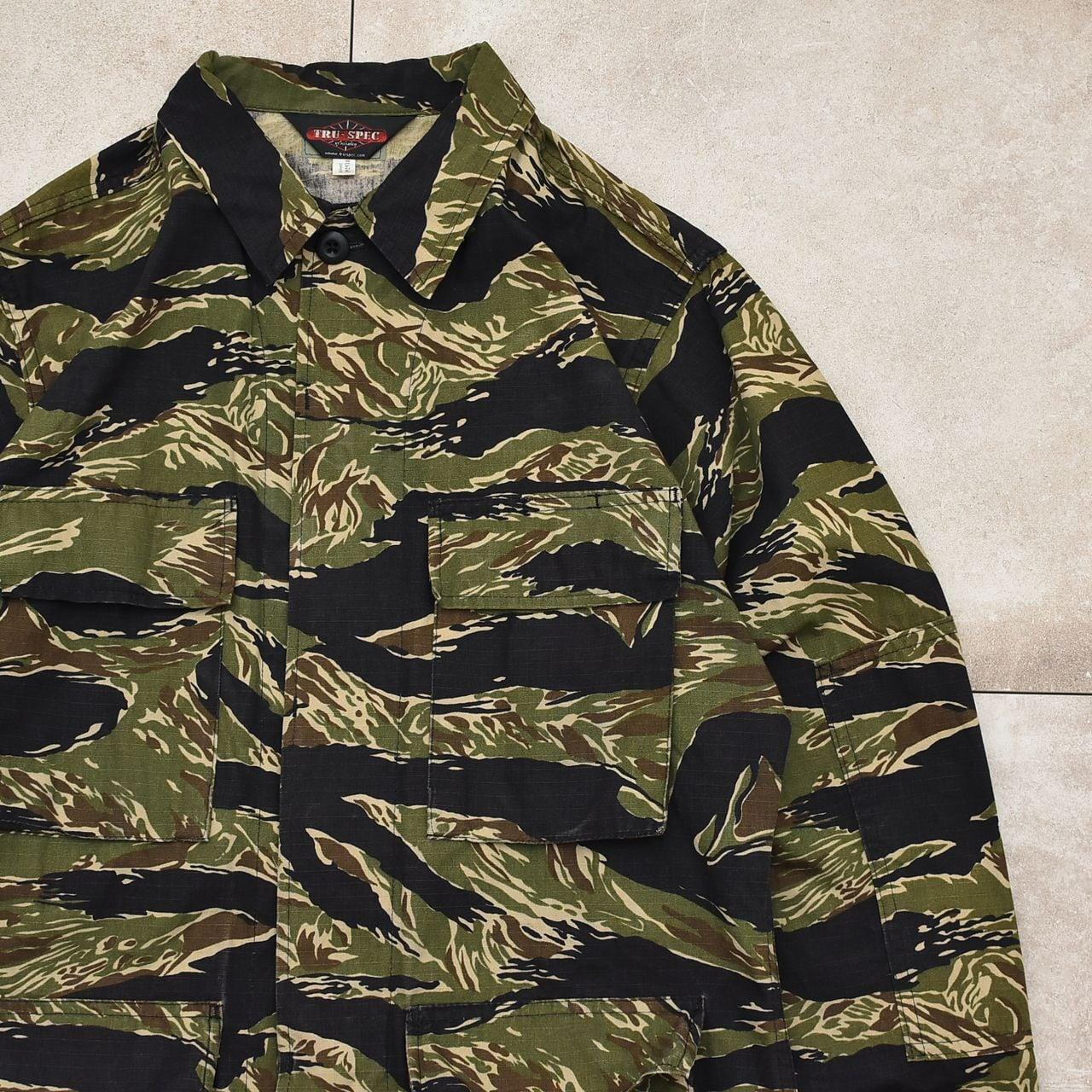 TRU-SPEC tiger stripe camo combat jacket