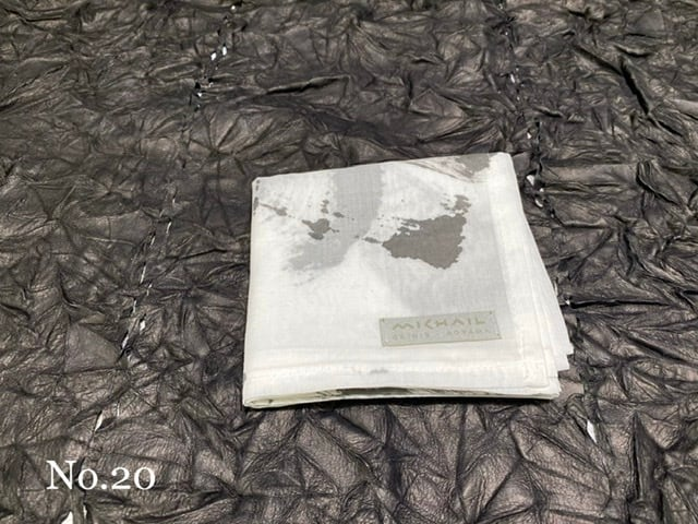 ORIGINAL HANDPAINTED HANDKERCHIEF ハンカチ[税込/送料別]