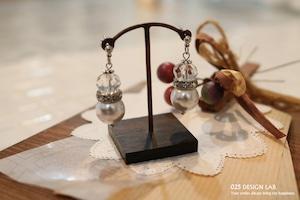 キラキラロンデルの耳飾り / ピアス