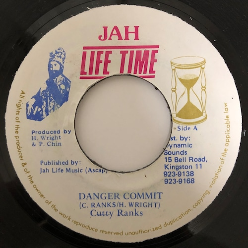 Cutty Ranks - Danger Commit【7-20402】