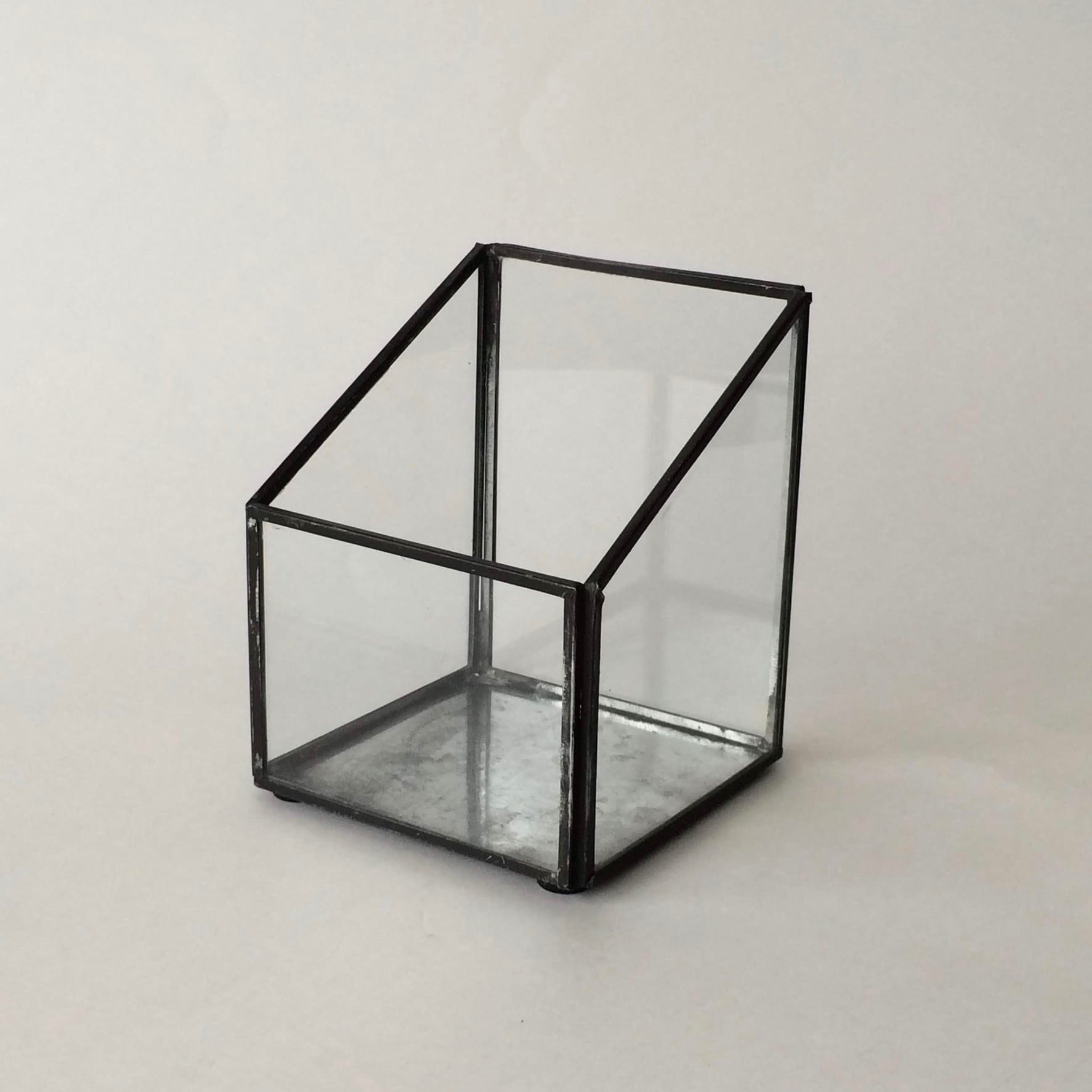 ガラスとブリキのボックス|Glass Tin Box