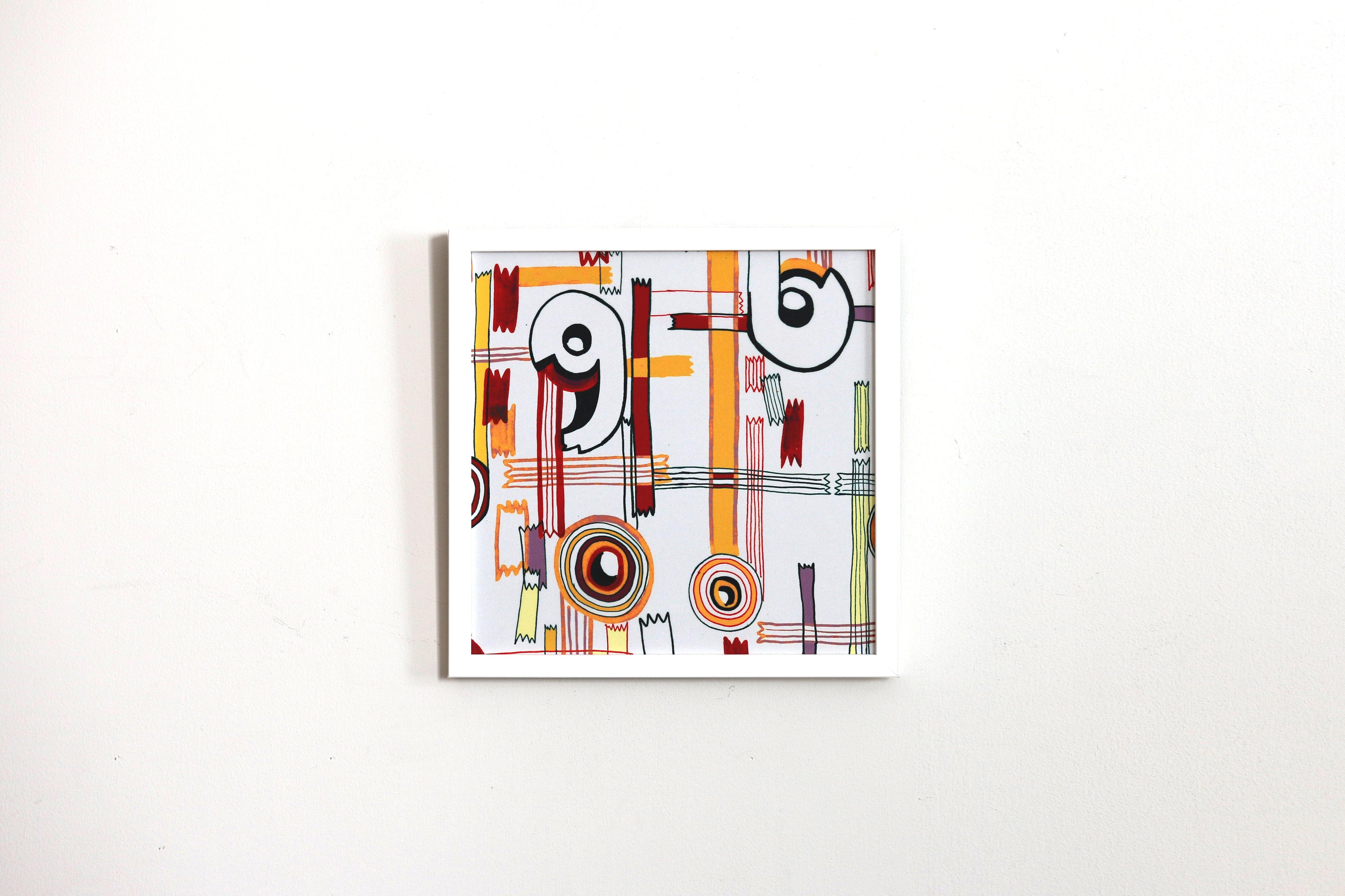 【アートフレーム】セロハンテープ -Hibi-