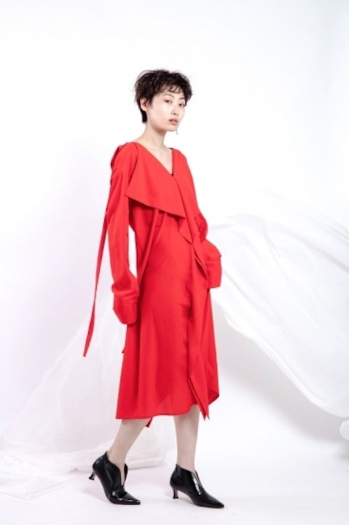 il - shirt one-piece -RED
