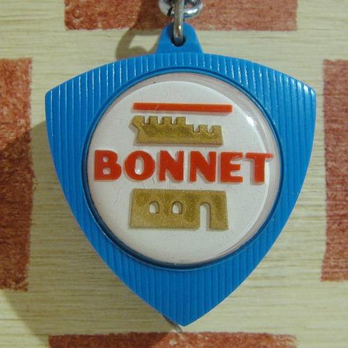 フランス Bonnet[ボンネット]房機器メーカー巻き尺ブルボンキーホルダー
