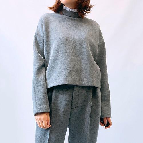 DOUBLE STANDARD CLOTHING(ダブルスタンダードクロージング) Sov./ ウールライクダンボールトップス 2021秋冬物新作 [送料無料]