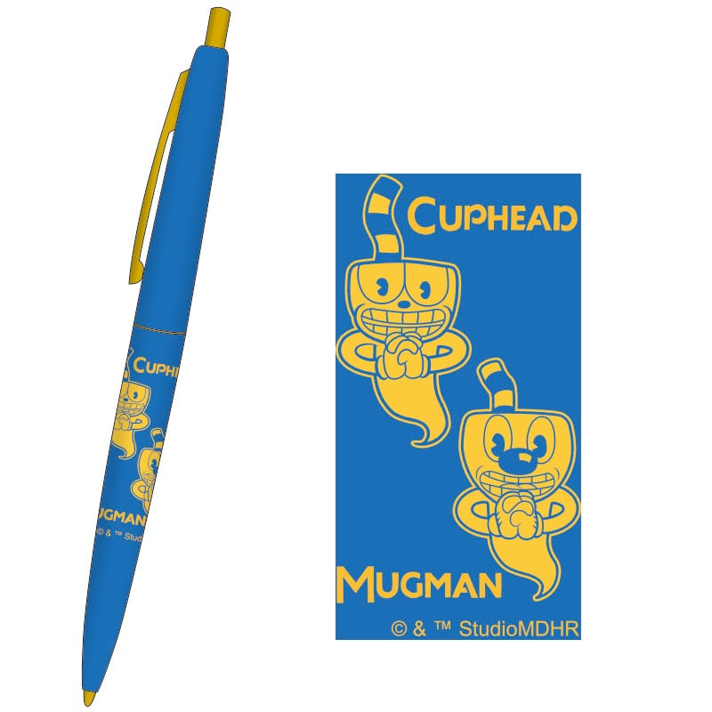 CUPHEAD ( カップヘッド ) BICボールペン ②ブルー / エンスカイ