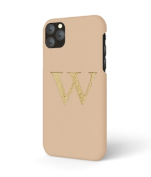 iPhone  Premium Smooth Leather Case (Nude)