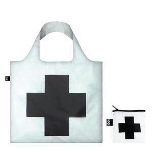 LOQI エコバッグ Malevich  Black Cross  Tote Bag