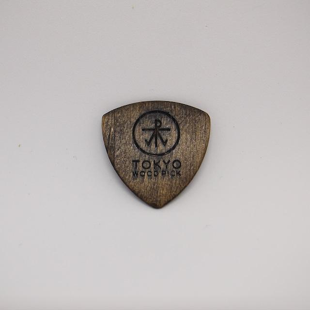 Triangle型   ギターピック TOKYO WOOD PICK Natural Brown