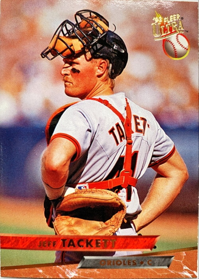 MLBカード 93FLEER Jeff Tackett #147 ORIOLES