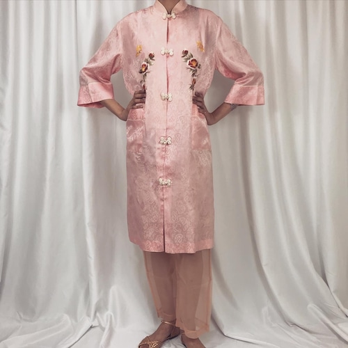 刺繍チャイナジャケット