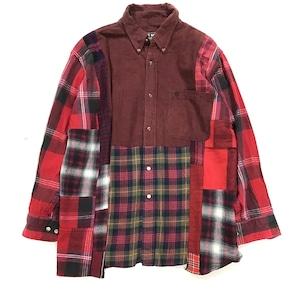 REMAKE  SHIRTS リメイクチェックシャツ【Shirts36】