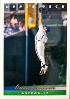 MLBカード 93UPPERDECK Casey Candaele #294 ASTROS