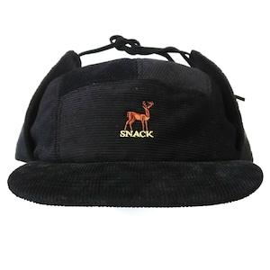 SNACK / Buck Earflap Hat / bkack
