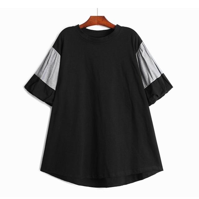ランタンスリーブTシャツ   1-135