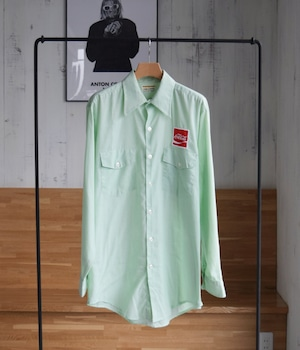VINTAGE 60s-70s Coca Cola Workshirt -Made in USA-
