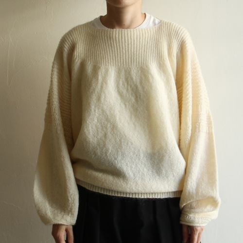 JOICEADDED【 womens 】rounded geometric knit