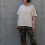 【ethical hippi】wide t-shirt(ivory) / 【エシカル ヒッピ】ワイド Tシャツ(アイボリー)