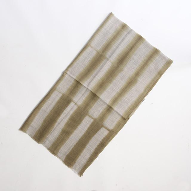 Hand Woven Baby Wool Sakaboushi Stripe Circle ベビーウール ショール #0214[ suzusan ]