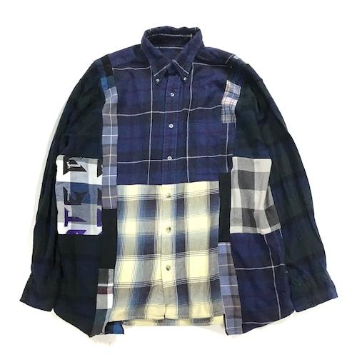 REMAKE  SHIRTS リメイクチェックシャツ【Shirts32】