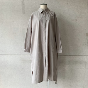 【COSMIC WONDER】Cotton wool shirt dress/14CW17254
