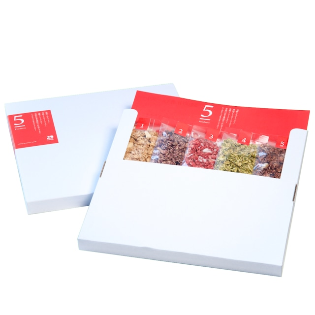 【送料無料】5色の甘酒ミューズリー便
