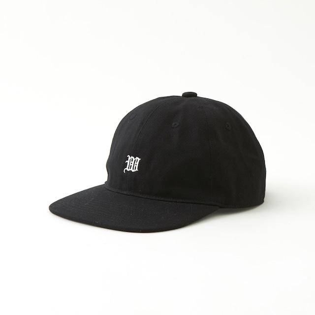 SMALL LOGO BASEBALL CAP - BLACK