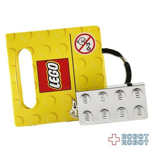 LEGO レゴ キーリング ブロック シルバー 851406