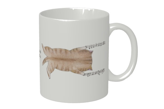 【即日出荷用】爪猫のマグカップ