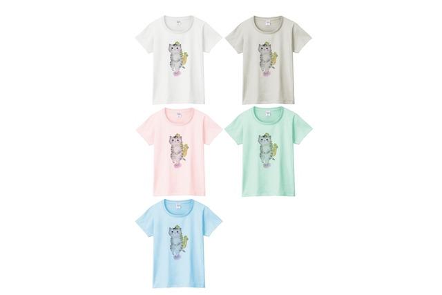 サックス猫のTシャツ