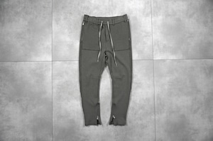 ASKYY / SIDE STRIPE SWEAT PANTS / ASH KHAKI