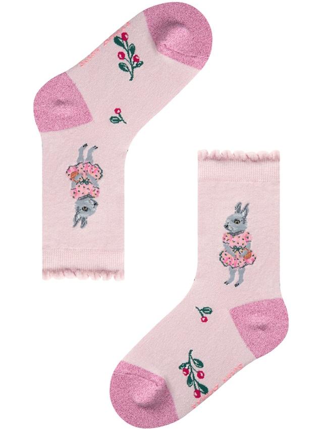 7-9years【Nathalie Lete】KIDS PINK DRESS RABBIT