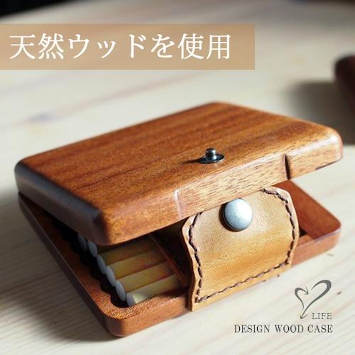 LIFE/ライフ 手帳型ウッドタバコケース